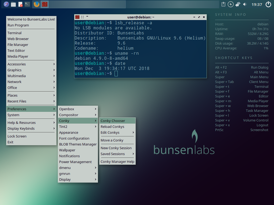 BunsenLabs Linux