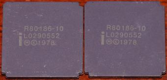 2x Intel i-R80186-10 MHz CPUs Malay 1978