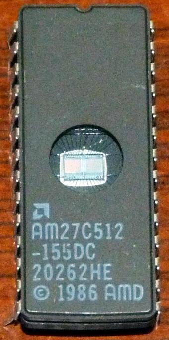 AMD AM27C512 EPROM 1986
