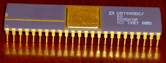 AMD AM7990DC CPU 1987