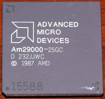 AMD Am29000-25GC (PGA169) 25MHz 32-bit RISC CPU 1987