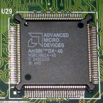 AMD Am386DX-40 CPU