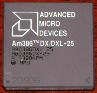 AMD Am386DX/DXL-25 CPU