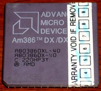 AMD Am386DX/DXL 40 CPU