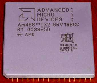 AMD Am486DX2 66V16BGC CPU