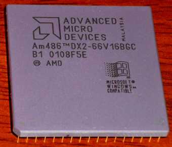 AMD Am486 DX2-66 V16BGC CPU