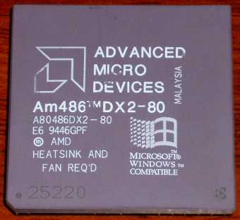 AMD Am486-DX2 80 CPU