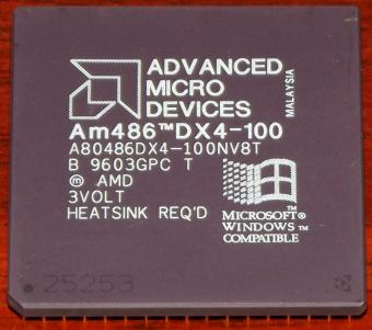 AMD Am486DX4 100-MHz CPU (A80486DX4-100NV8T)
