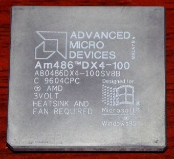 AMD Am486DX4-100 SV8B Metall CPU