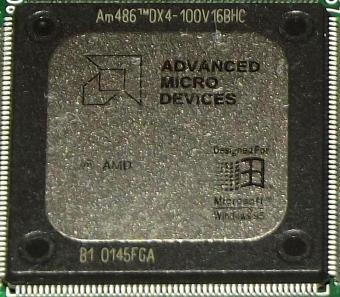 AMD Am486DX4-100 V16BHC CPU