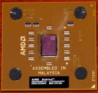 AMD Athlon 2000+ CPU (K7 Thoroughbred) AXDA2000DKT3C Socket-A (Sockel 462) 1999