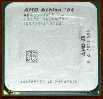 AMD Athlon 64 3500+ ADA3500DEP4AW (K8 NewCastle) CPU Socket-939 2004