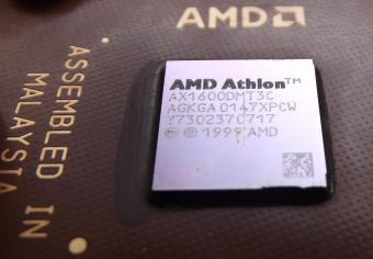 AMD Athlon 1600+ AX1600DMT3C CPU 1999