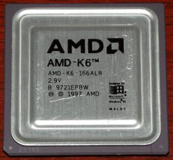 AMD K6 166ALR CPU 1997