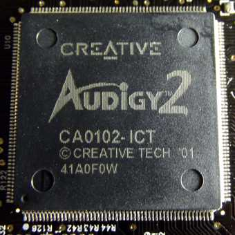 Creative Audigy2 Chip 2001