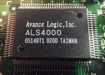 Avance Logic Inc. ALS4000 Chipset