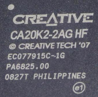 Creative CA20K2 (EMU20K2) Chip 2007