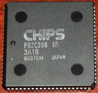 Chips and Technologies Inc. CHIPS P82C206 H1 Integrated Peripherals Controller 486er IPC-Chipset
