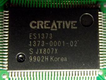 Creative Labs ES1371 Chipset