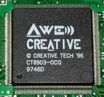 Creative AWE64 Chip 1996