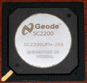Geode SC2200 Embedded System-on-a-Chip & Video Processor SC2200UFH-266 Socket BGA481