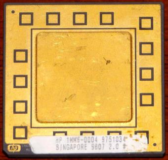 HP PA-RISC MMU CPU 1MM6-0004 9751034 Goldcap CPGA-431 Singapore 1998