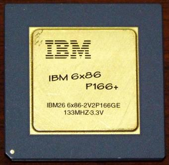 IBM 6x86 P166+ CPU 133MHz 3,3V Cyrix USA 1995