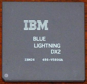 IBM Blue Lightning DX2 80MHz CPU IBM26 486-V580GA Cyrix USA 1993