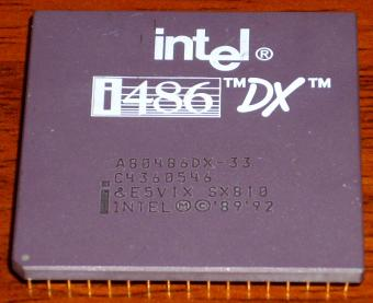 Intel 486DX-33 sSpec: SX810 CPU