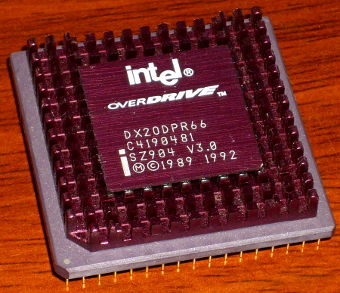 Intel 486 Overdrive DX20DPR66