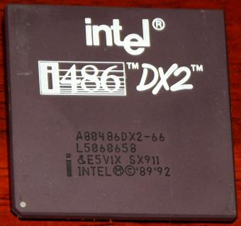 Intel 486DX2-66 CPU sSpec: SX911