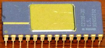 Intel C2186-30 E.S. (Engineering Sample) Pseudo Static Dynamic RAM