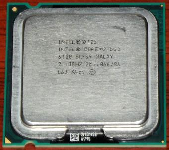 Intel Core 2 Duo 6400 sSpec: SL9S9 2,13GHz/2M/1066 CPU 2006