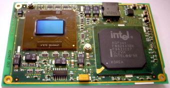 Intel Mobile Pentium-II 366MHz CPU mit MMC-2 Connector