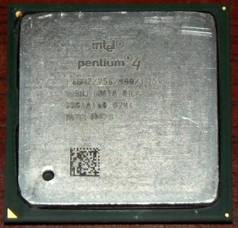 Intel Pentium 4 (Willamette) 1,6GHz CPU sSpec: SL5UJ, Socket-478, 2001