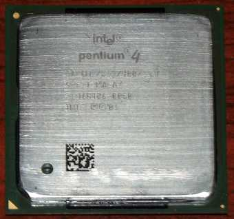 Intel Pentium 4 CPU 2GHz sSpec: SL5ZT (Northwood) 2001