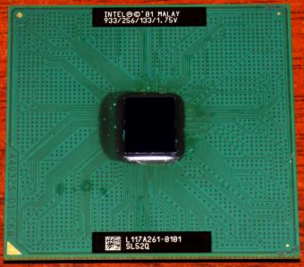 Intel Pentium III 933MHz CPU sSpec: SL25Q (Coppermine) Socket-370 2001