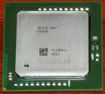 Intel Xeon 2800DP/1M/800 sSpec: SL7PD CPU 2004