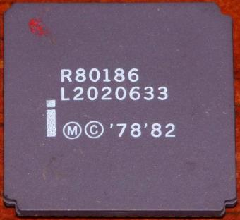 Intel i-R80186 CPU Malay 1978-1982