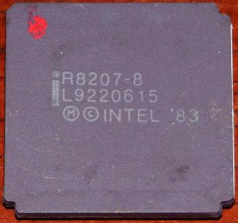 Intel iR8207-8 MHz Memory Support Circuit Dynamic RAM-Controller (8086 CPU) Malay 1983