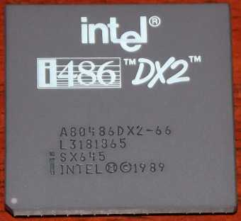 Intel i486DX2-66 CPU sSpec: SX645 1989