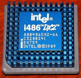 Intel i486DX2-66 SX759 CPU