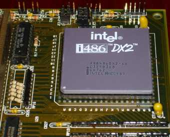Intel i486DX2-66MHz CPU sSpec: SX762