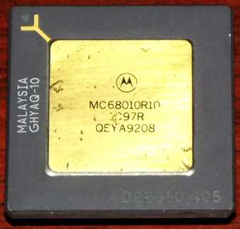 Motorola MC68010R10 CPU