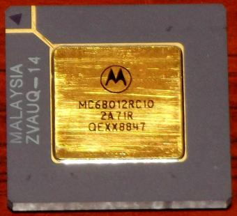 Motorola MC68012RC10 CPU
