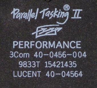 3Com Parallel Tasking II Performance