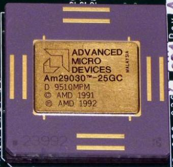 AMD Am29030-25GC & MACH130 CPU 1992