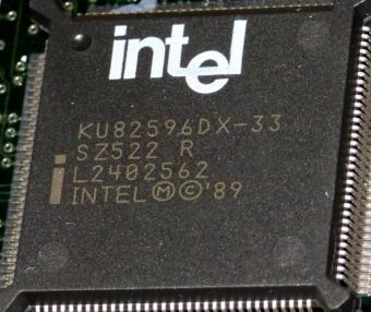 Intel KU83596DX-33 sSpec: SZ522 CPU