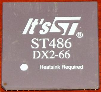 It's ST 486DX2-66 CPU