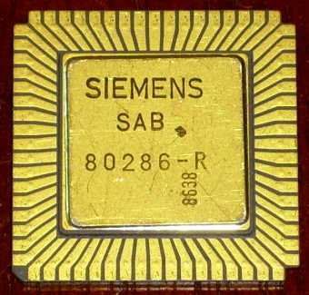 Siemens SAB 80286-R CPU LLC-Version
